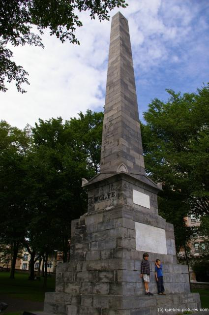 Wolfe Monument in Old Quebec City.jpg