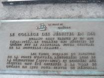 Le College Des Jesuites 1760 Plaque in Quebec City.jpg