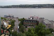 Pier and harbor area with Excursion Ships in Old Quebec City.jpg