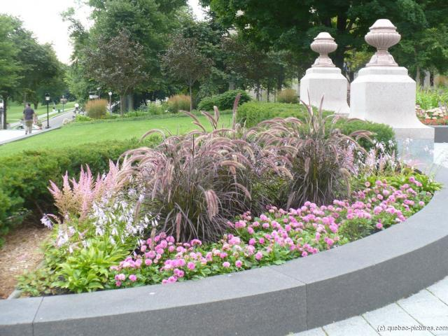 Plants and Flowers near the Quebec Parliament Building.jpg