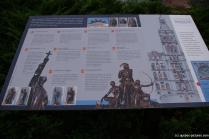 Quebec history poster in French in front of the Quebec Parliament building.jpg