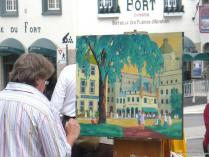 Artist at work in Old Quebec City.jpg