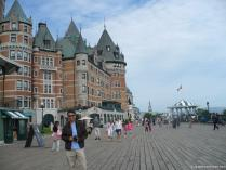 David in Old Quebec City with Fairmont Château Frontenac Hotel in the background.jpg