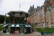 Princesse Louise pavillion and the Château Frontenac Fairmont Hotel in Quebec City.jpg